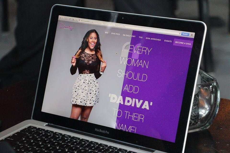 Dominique Da Diva Website Launch