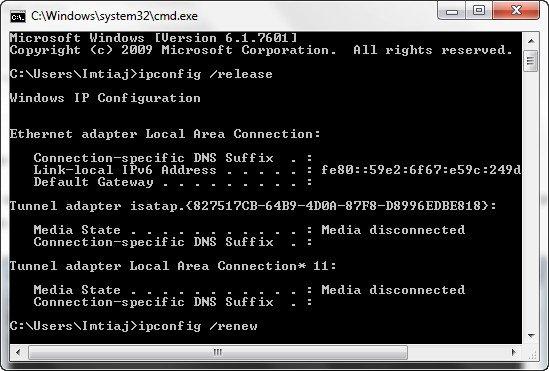 FIX DNS Error In Google Chrome –