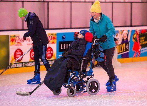 South Dublin On Ice skates at Tallaght Stadium