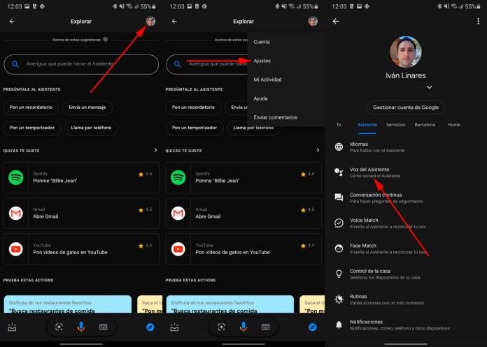 Change Voice Google Assistant
