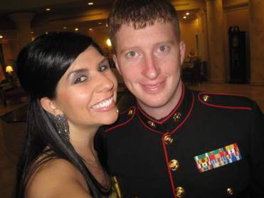 Ben & Janee at the USMC Birthday Ball in 2011