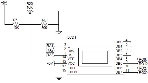 Kétsoros LCD kijelző használata