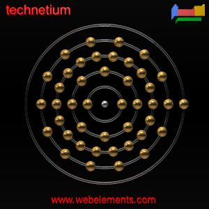 Technetiumproperties of free atoms WebElements Periodic