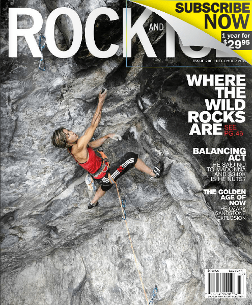 How many women are featured in climbing magazines? (Spoiler alert: not enough!)