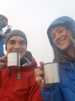 Tea at Poon Hill