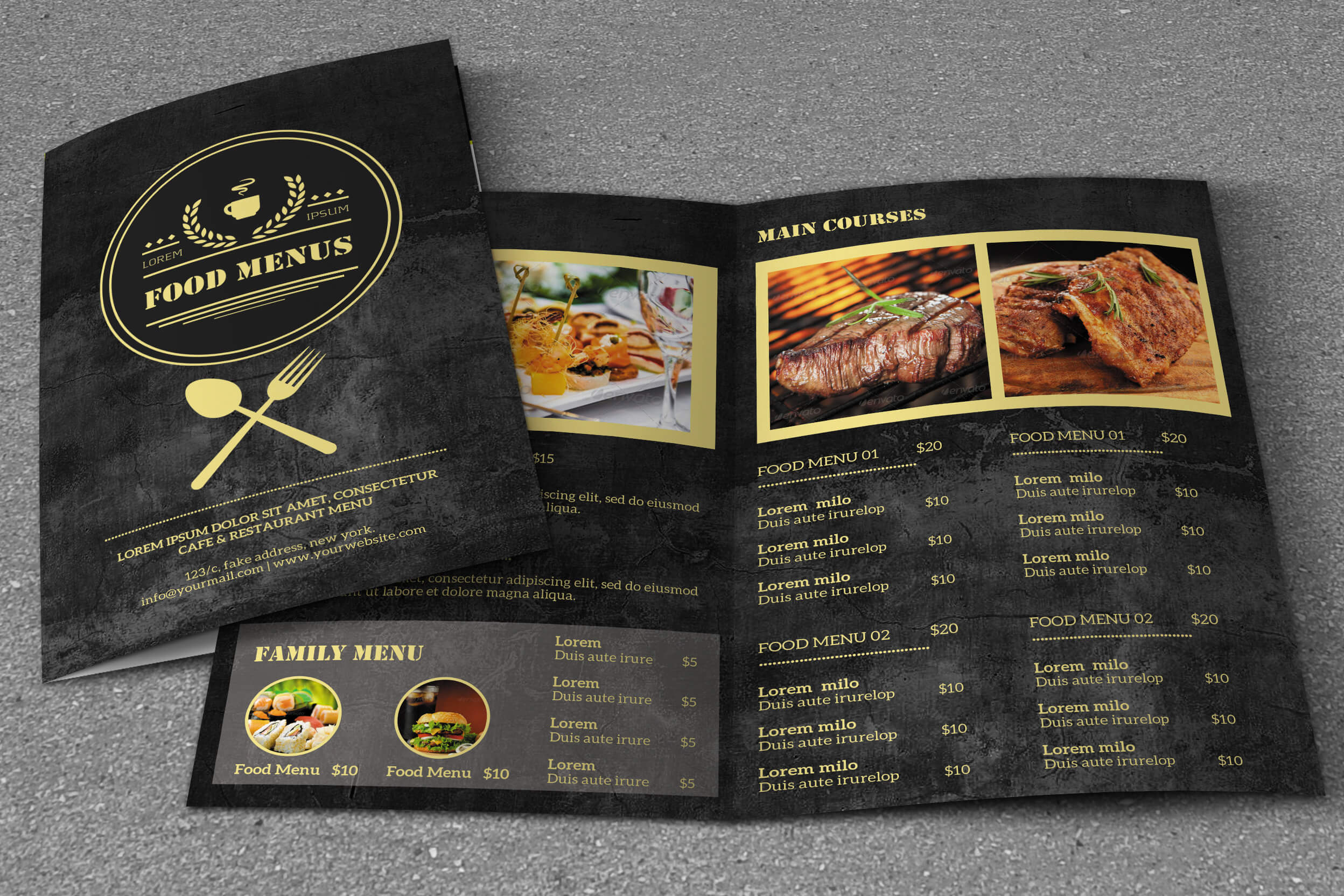 30 Food & Drink Menu Templates – Web EMailing