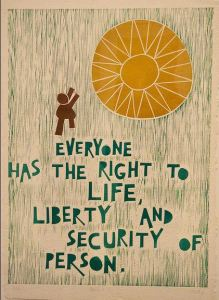 Universal Declaration of Human Rights by Jordan Lewin on Flickr