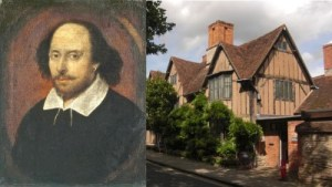 Shakespeare's Life and Work Divided