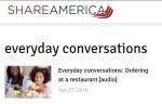, Everyday Conversations, WebEnglish.se