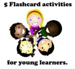 5 Flashcard Games for young learners