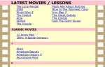 Lessons on Movies