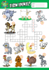 Farm Animals ESL Printable Worksheets For Kids 1