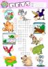 Pets Vocabulary Esl Memory Game Dog Cat