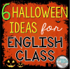 6 Halloween Ideas & Resources for your English Language Arts Class - The Secondary English Coffee Shop