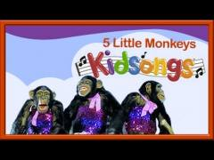 Five Little Monkeys | Kidsongs | Best Kids Videos | PBS Kids | 5 Little Monkeys | Counting Songs - YouTube