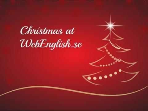 WebEnglish.se Christmas