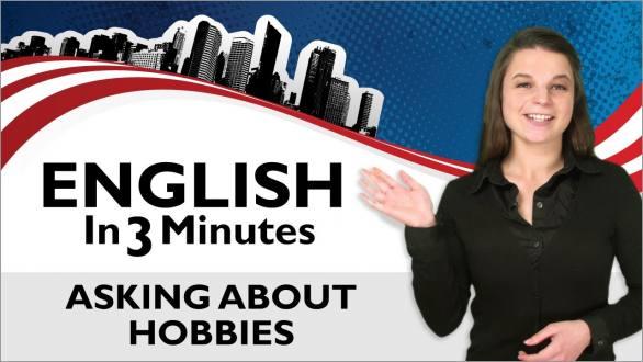 hobbies, Hobbies and Interests, 5-6, WebEnglish.se