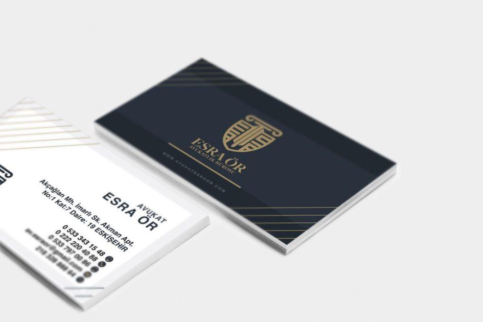 Av.Esra ÖR Logo Tasarım ve Kartvizit Tasarım Çalışması 2 1024x683