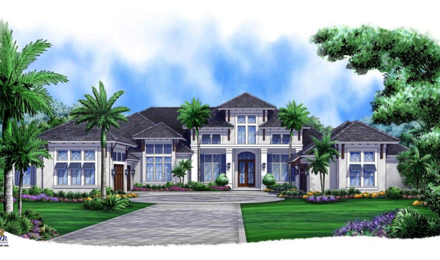 Caribbean Breeze House Plan