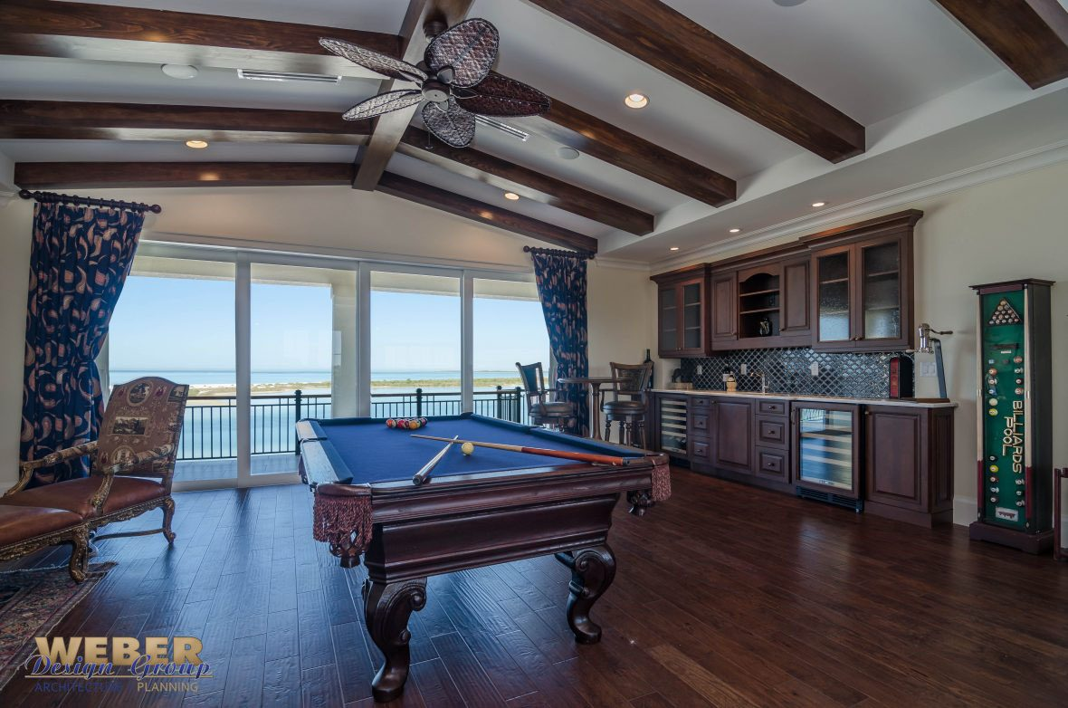 Oceanside Coastal Three Story Home Weber Design Group
