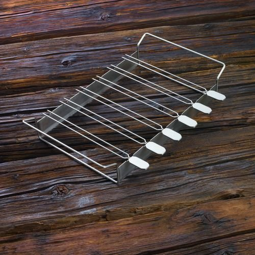 Rosle 25072 Grilling Kabob Rack with Skewers