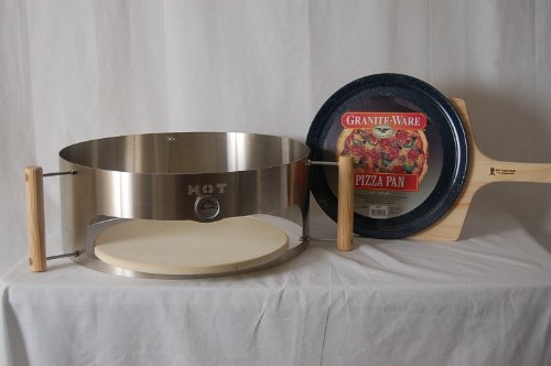 KettlePizza Deluxe Kit for 18.5-Inch and 22.5-Inch Kettle Grills