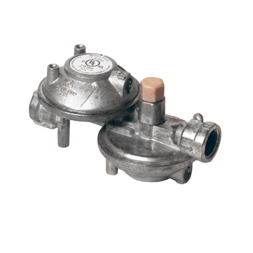Mr. Heater F273763 Propane Two Stage Regulator 1/4″ Female Pipe Thread(inlet) X 3/8″Female Pipe Thread (Outlet)