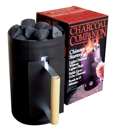 Charcoal Companion Black Chimney Charcoal Starter