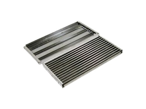 Stamped Stainless Steel Cooking Grid Replacement for Select Charbroil and Kenmore Gas Grill Models, Set of 3