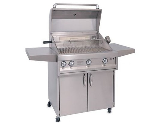 Artisan ARTC-26 Stainless Steel Cart for 26-Inch Grill