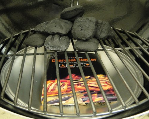 InstaFire Charcoal Briquette Starter, 8 Burnable Packs