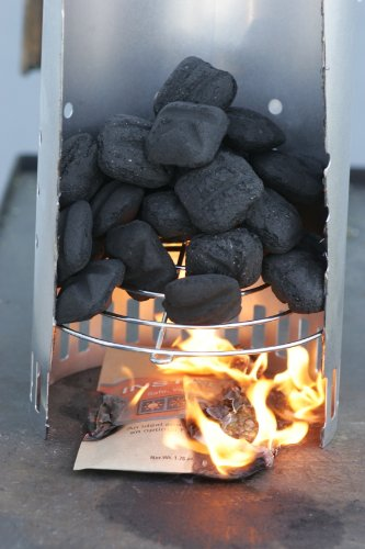 InstaFire Charcoal Briquette Starter, 8 Burnable Packs