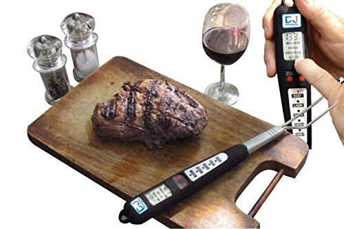 Professional Digital Meat Thermometer – Temperature Probe For Beef, Lamp, Pork, Turkey and Chicken – The Ultimate Instant Read dual probe wireless thermometer For Barbeque, Oven, Grill and Cooking – Excellent Free BBQ Recipe Ebook Bonus – Includes Digital Food Thermo Batteries – Risk Free – Life Time, Money Back Guaranty