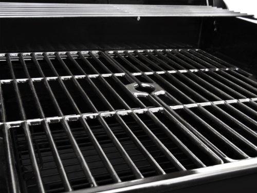 Dyna-Glo Bronze 60,000 BTU 4-Burner Propane Gas Grill with Side Burner