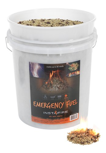 InstaFire Bulk Emergency Fuel, 5-Gallon Bucket