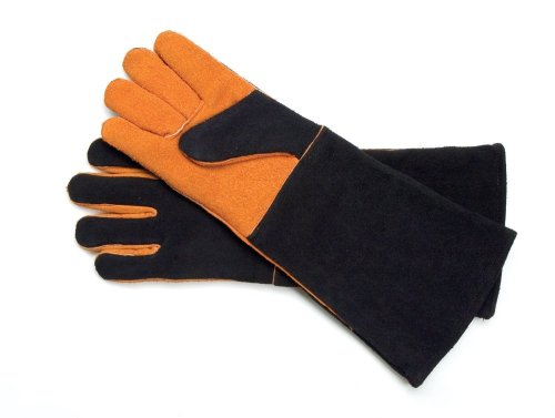 Steven Raichlen Best of Barbecue Extra Long Suede Gloves (Pair) – SR8038