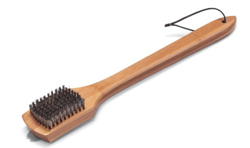 Weber 6464 18-Inch Bamboo Grill Brush