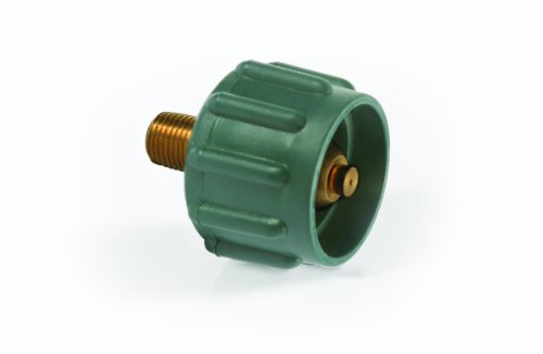 Camco 59923 Green Propane Acme Nut – 200,000 BTUs