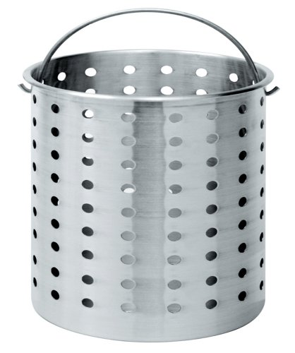 Bayou Classic B100, 100-Qt. Perforated Basket, aluminum