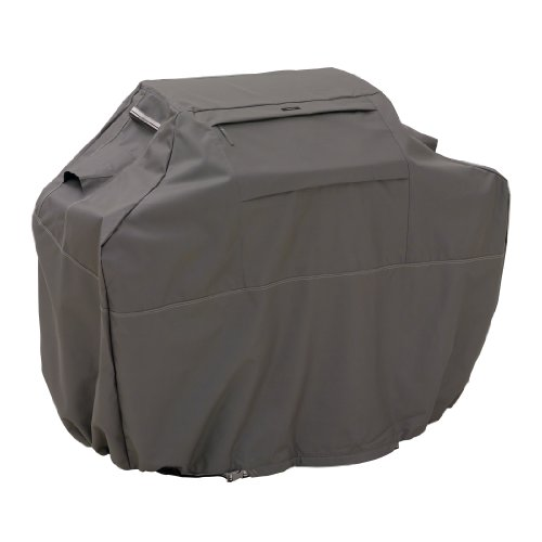 Classic Accessories 55-140-035101-EC Ravenna Grill Cover, Medium, Taupe