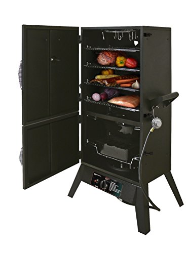 Smoke Hollow 38202G LPG 2-Door Smoker, 38-Inch