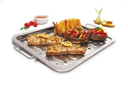 GrillPro 97125 Stainless Steel Grill Topper
