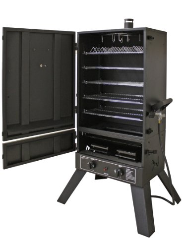 Smoke Hollow 44241G2 44-Inch Vertical LP Gas Smoker