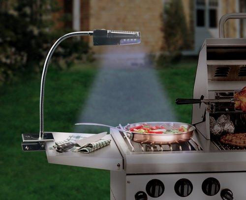 Solar Cordless LED Grill Light
