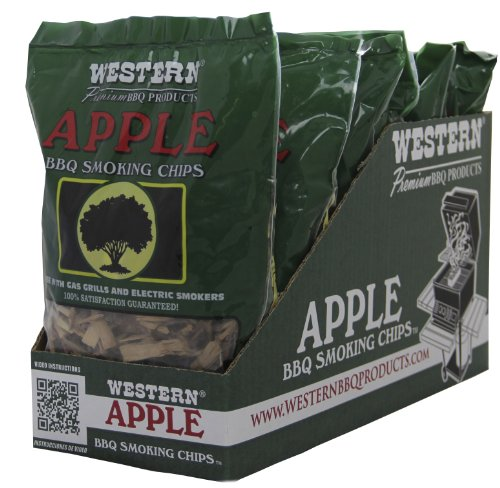 WESTERN 38065 6-Pack Apple Smoking Chips