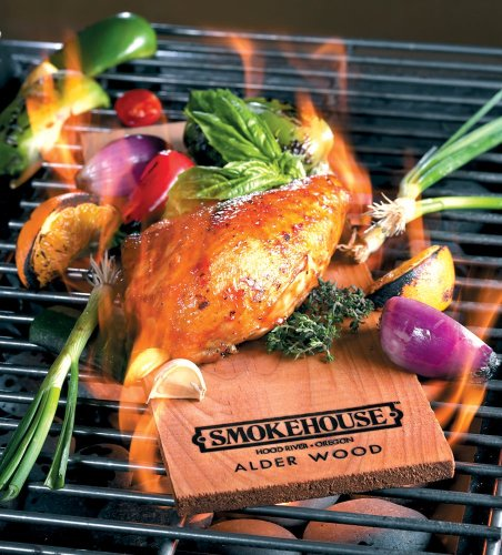 Smokehouse Products Alder Flavored Natural Grilling Plank, 3-Pack