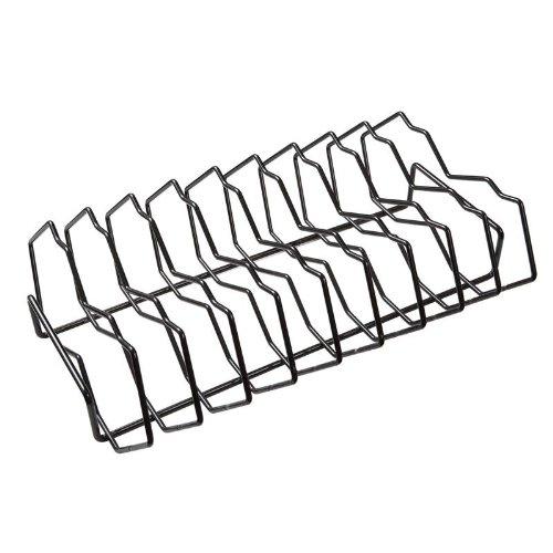 Primo Grills Premium Rib Rack in Metallic Finish