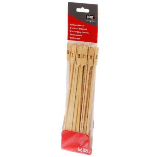Weber 6608 25-Pack Original Bamboo Skewers