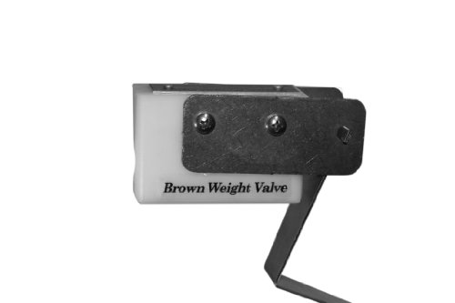 Brown Weight Valve 30 Weight Valve, Medium