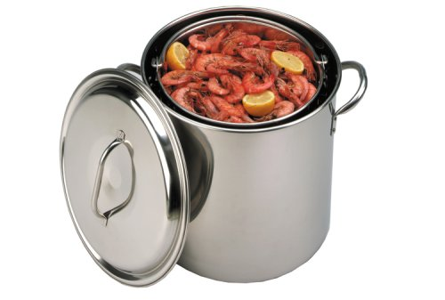 King Kooker 22-Quart Stainless Steel Boiling Pot